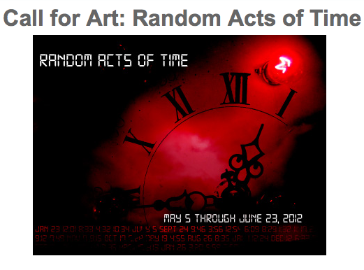 OCCCA Call for Art: Random Acts of Time