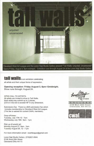 Tall Walls @CWAL