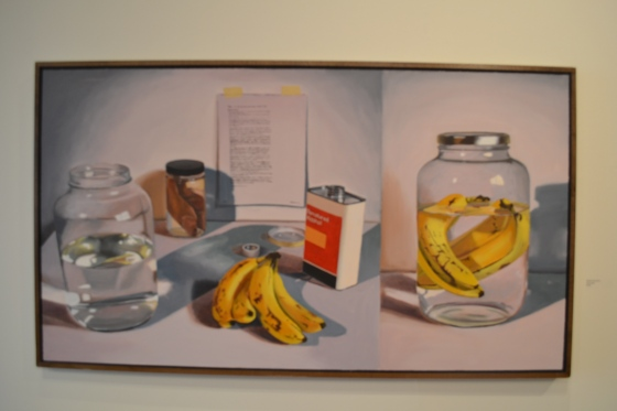 """Banana Preservation"" painting"