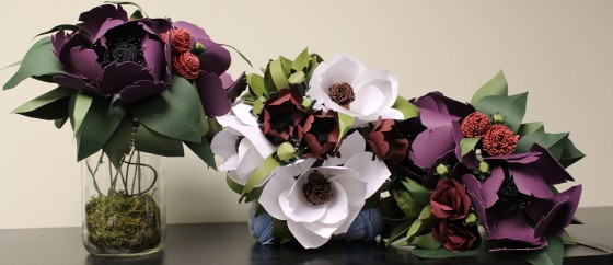 Lea Gray Flowers